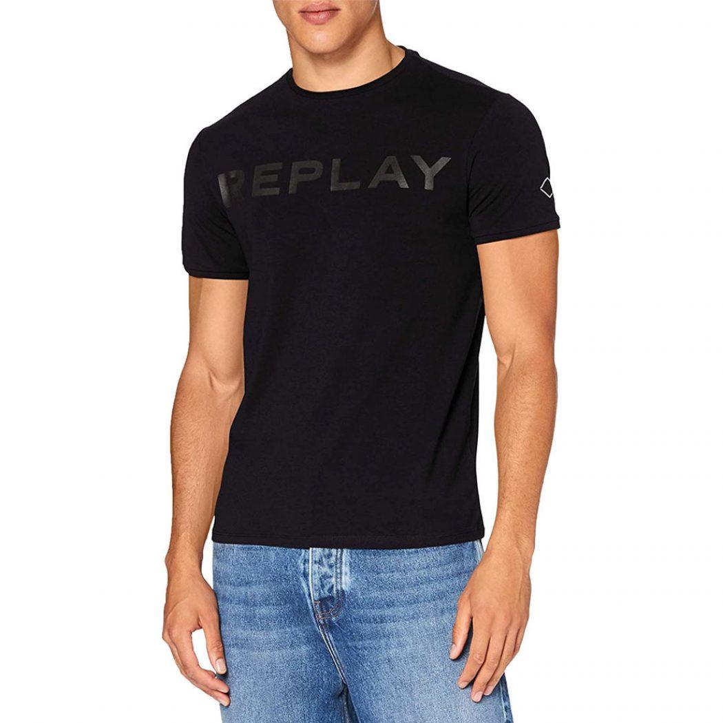 m3180 000 22973p 098 replay men t shirt black 1