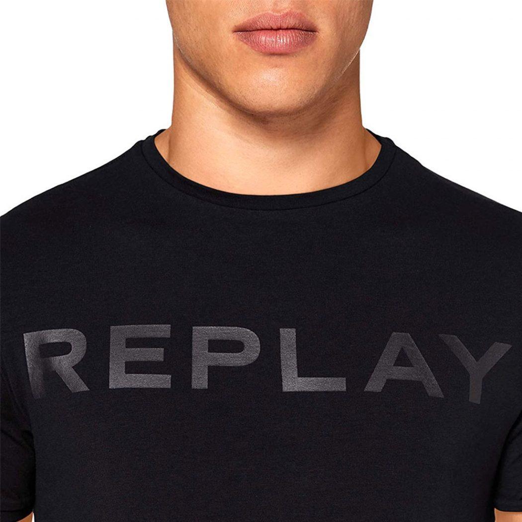 m3180 000 22973p 098 replay men t shirt black 4b