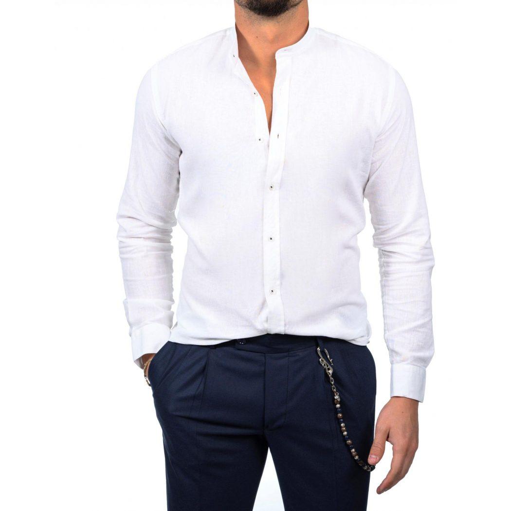 λινο mao μακρυμανικο πουκαμισο 5543 1