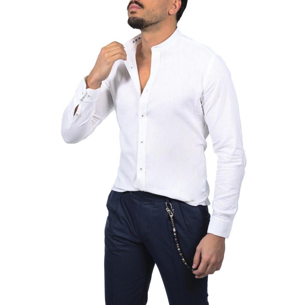 λινο mao μακρυμανικο πουκαμισο 5544 1