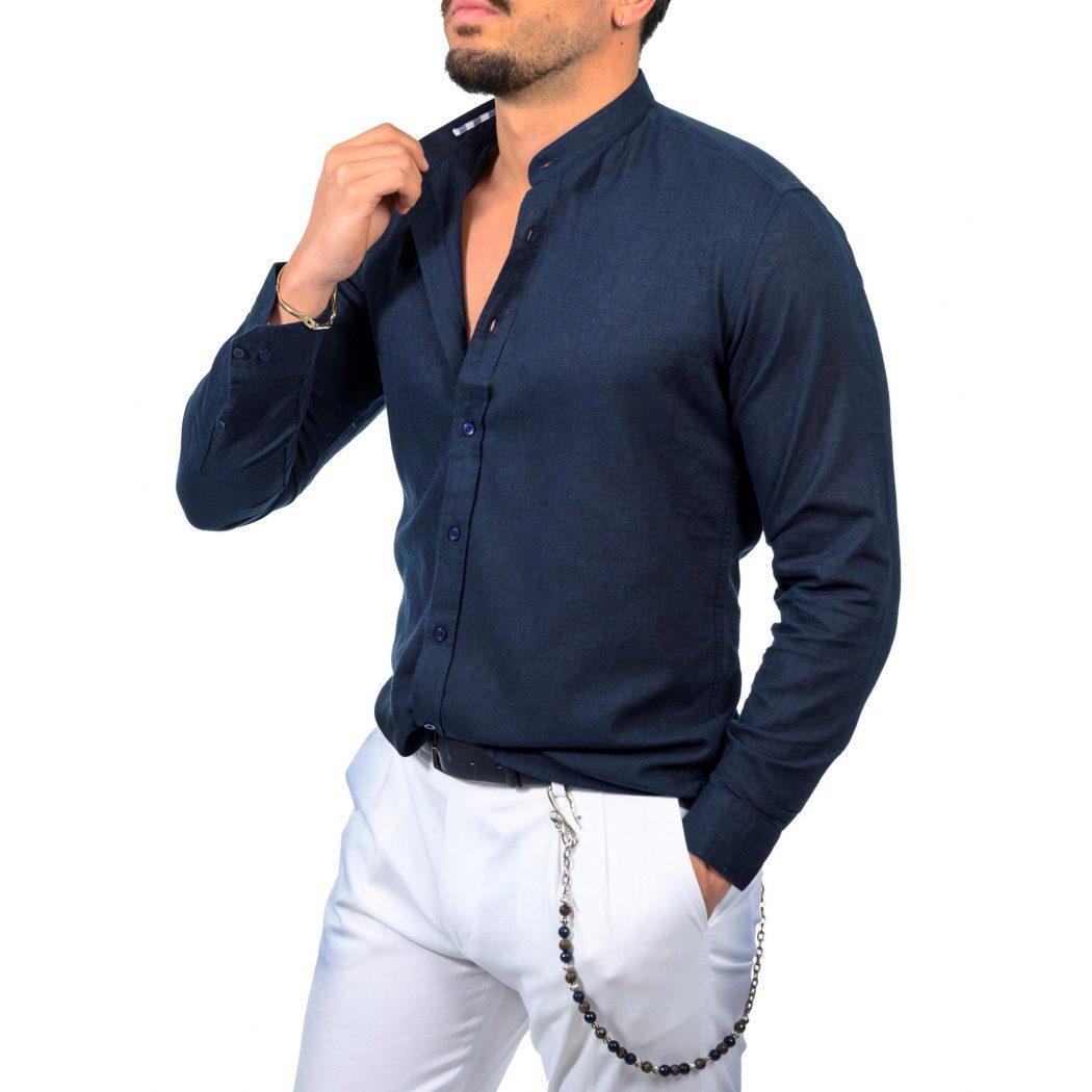 λινο mao μακρυμανικο πουκαμισο 5427 1 scaled