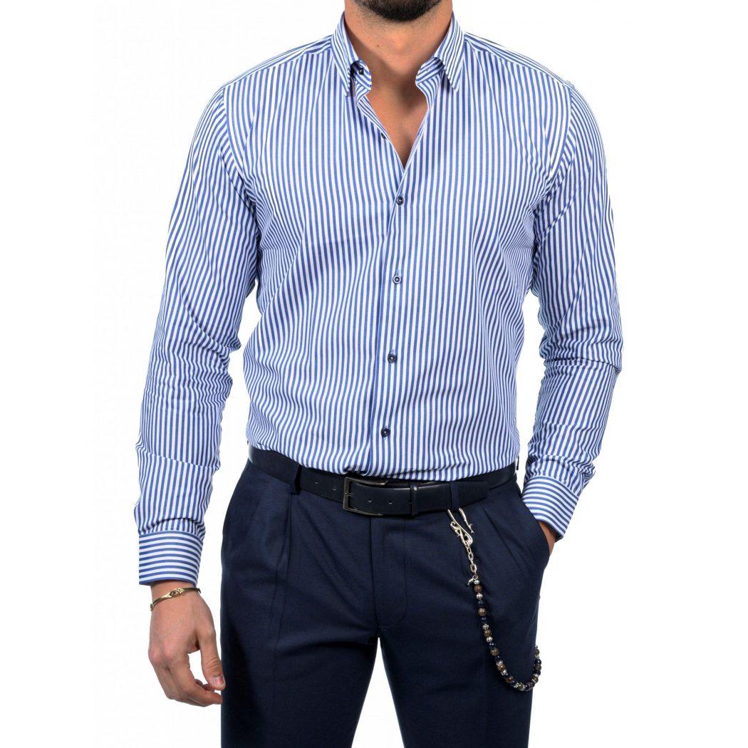 ριγε βαμβακερο πουκαμισο 5446 1 Scaled 1050x1050