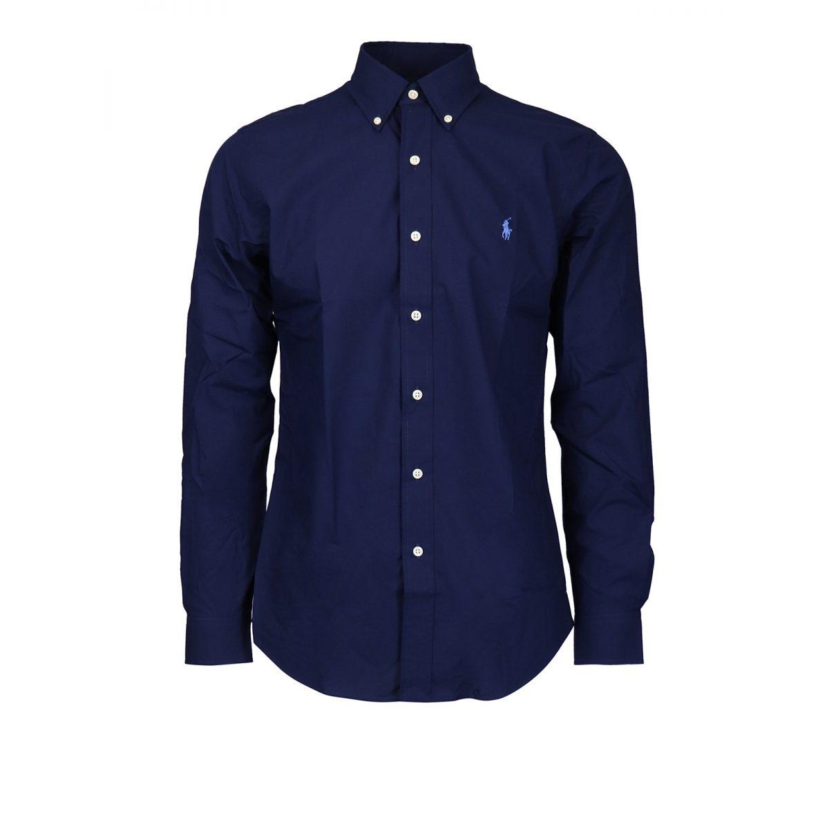 polo ralph lauren shirts navy cotton shirt 00000199746f00s011