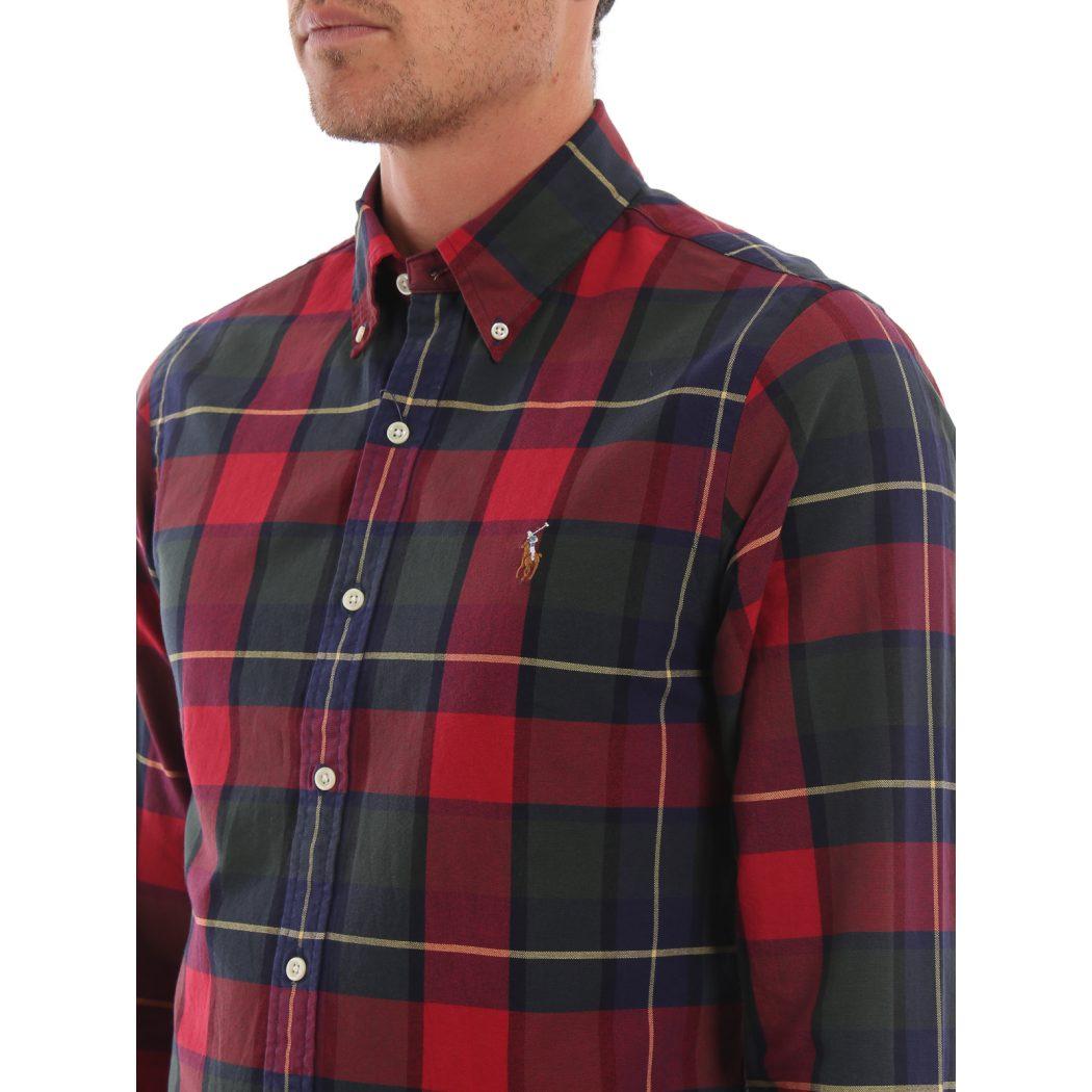 ralph lauren buy online tartan cotton bd shirt 00000167915f00s005