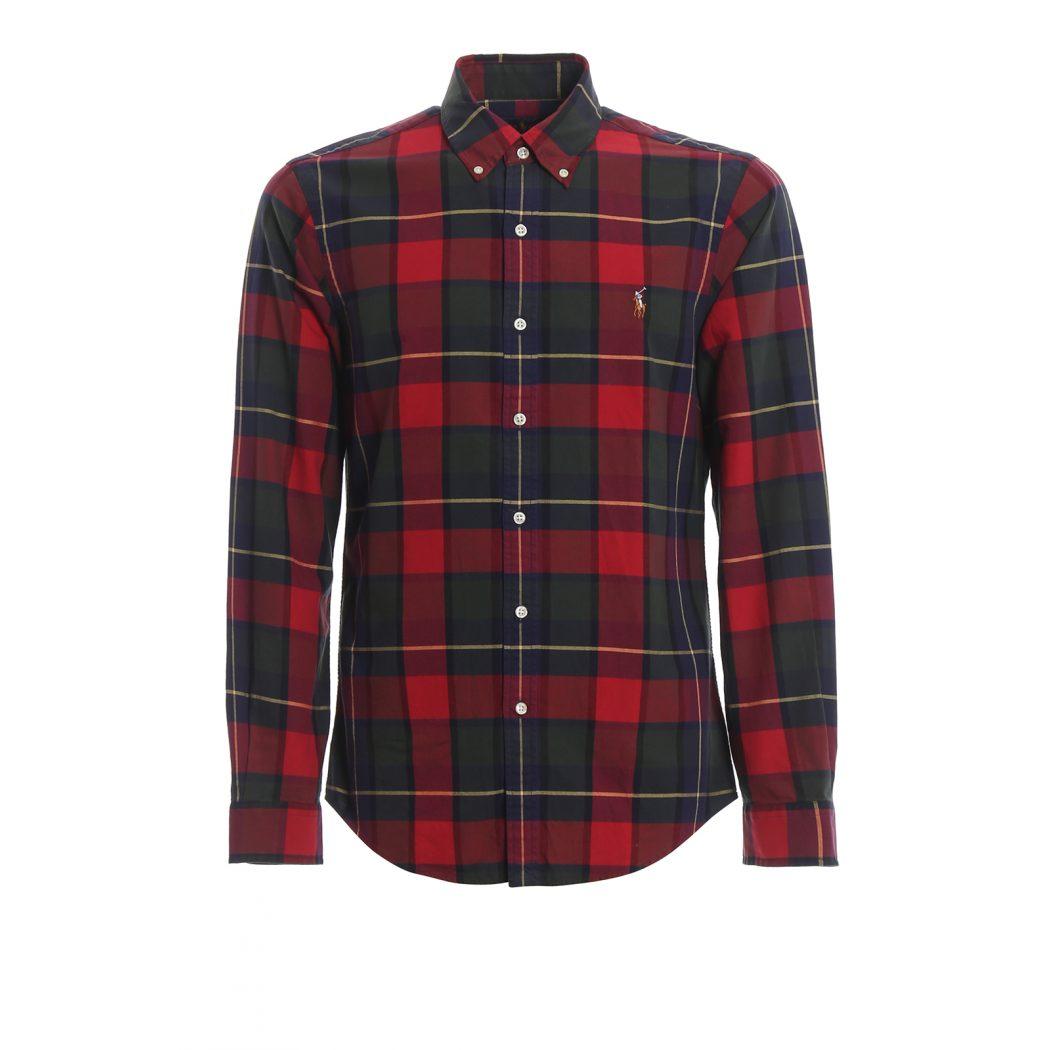 ralph lauren shirts tartan cotton bd shirt 00000167915f00s001